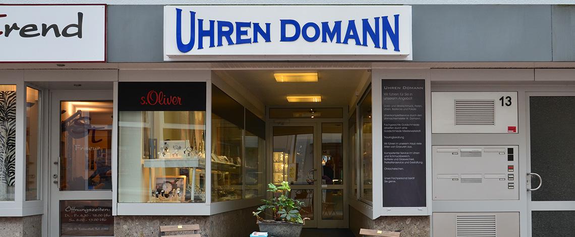Juwelier Domann - Geschäft