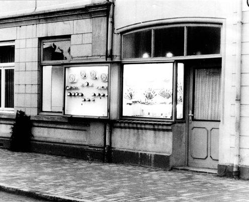 Juwelier Domann - Historische Ladenansicht